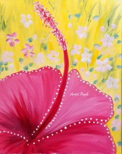 Sip n Paint - Rose Mallow